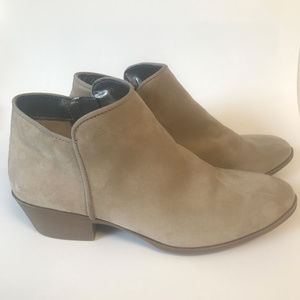 Faux-Suede Ankle Bootie